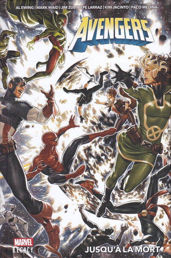 Couverture de Marvel Legacy - Avengers (Marvel France - 2018) - Jusqu'a la mort