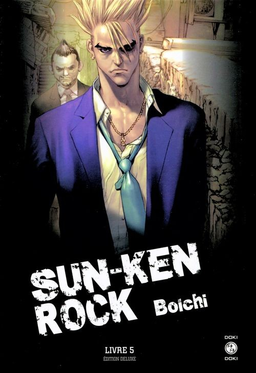 Couverture de Sun-Ken Rock - Édition Deluxe -5- Livre 5