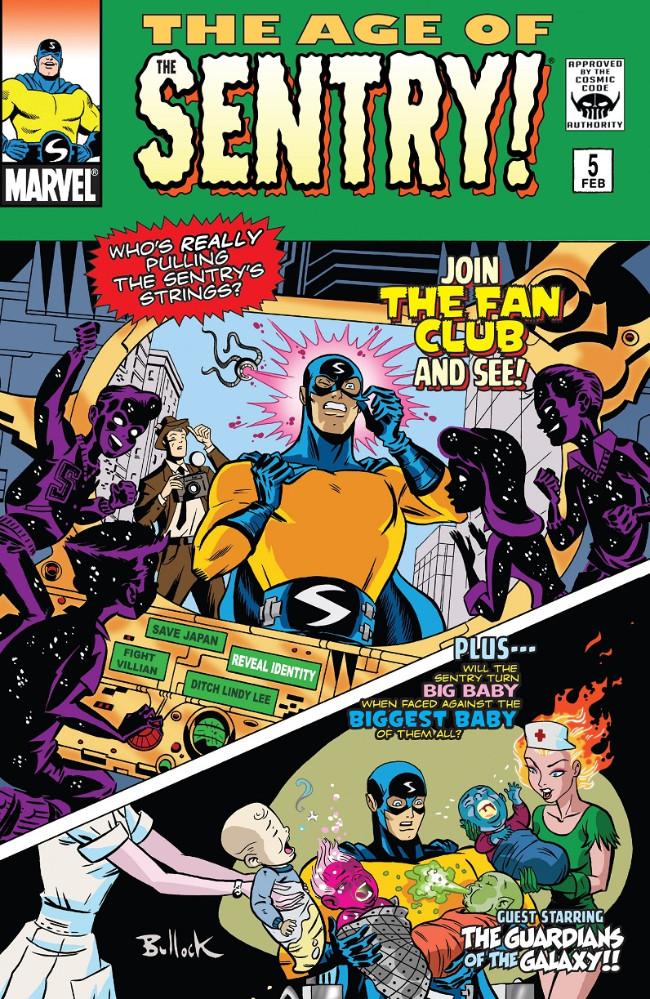 Couverture de Age of The Sentry (The) (Marvel - 2008) -5- (sans titre)