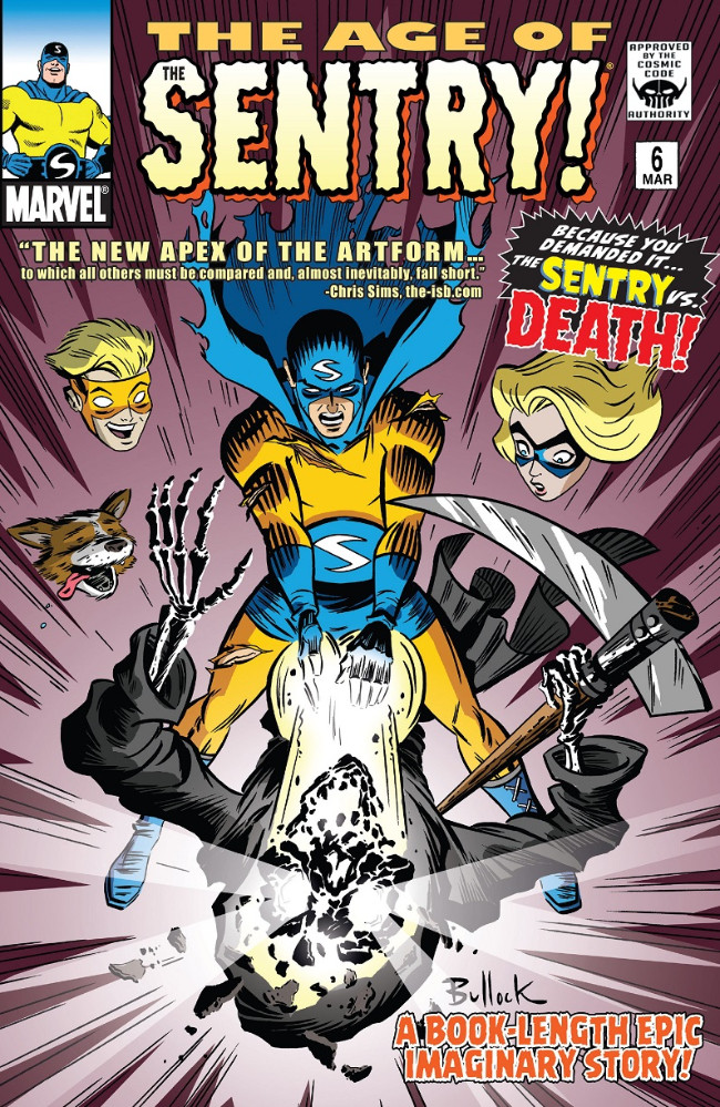 Couverture de Age of The Sentry (The) (Marvel - 2008) -6- The Sentry vs. Death!
