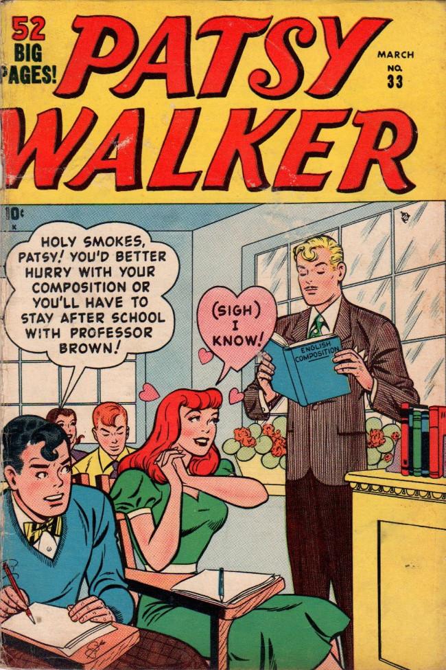 Couverture de Patsy Walker (Timely - 1945) -33- (sans titre)