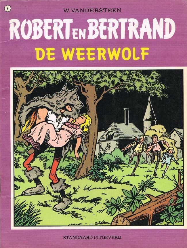 Couverture de Robert en Bertrand -8- De weerwolf