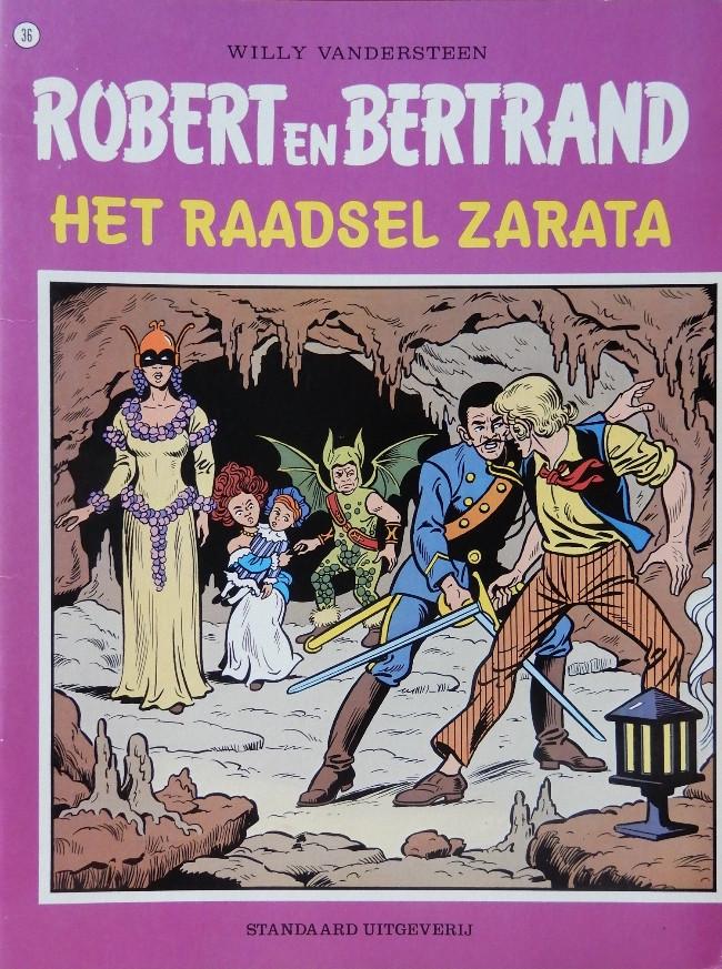 Couverture de Robert en Bertrand -36- Het raadsel Zarata