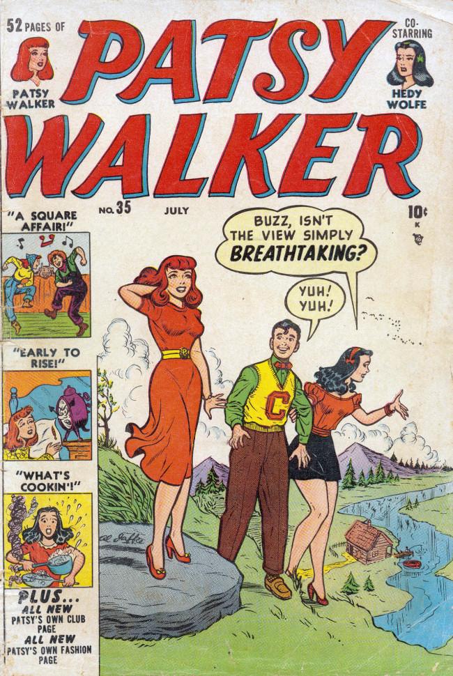 Couverture de Patsy Walker (Timely/Atlas - 1945) -35- (sans titre)