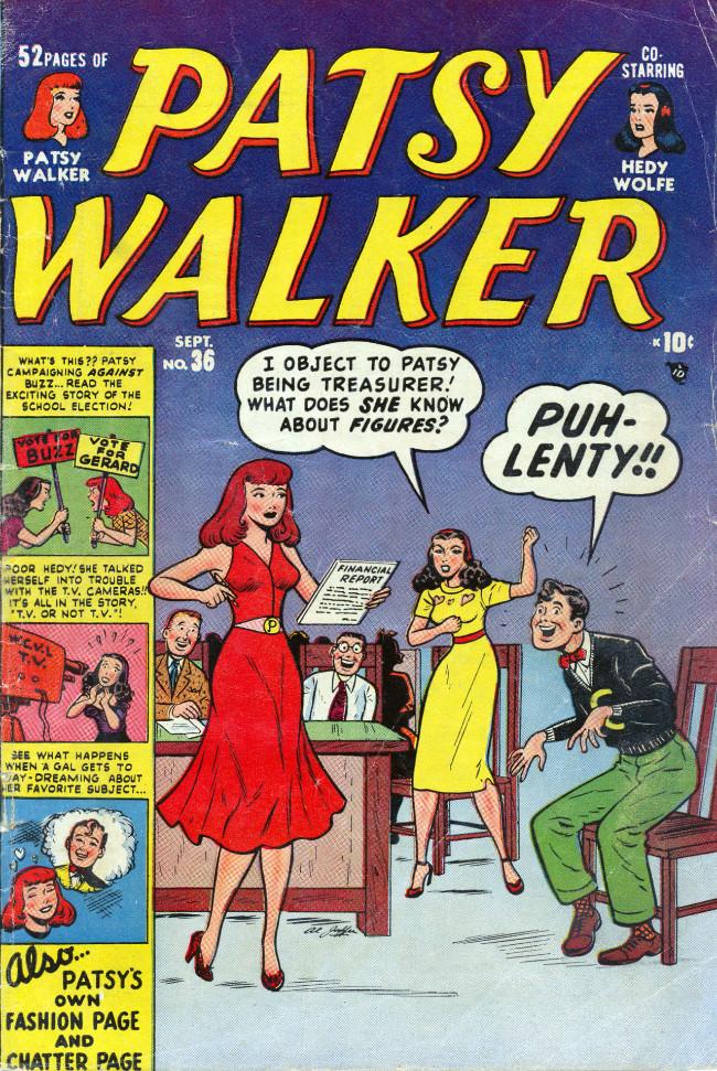 Couverture de Patsy Walker (Timely/Atlas - 1945) -36- (sans titre)