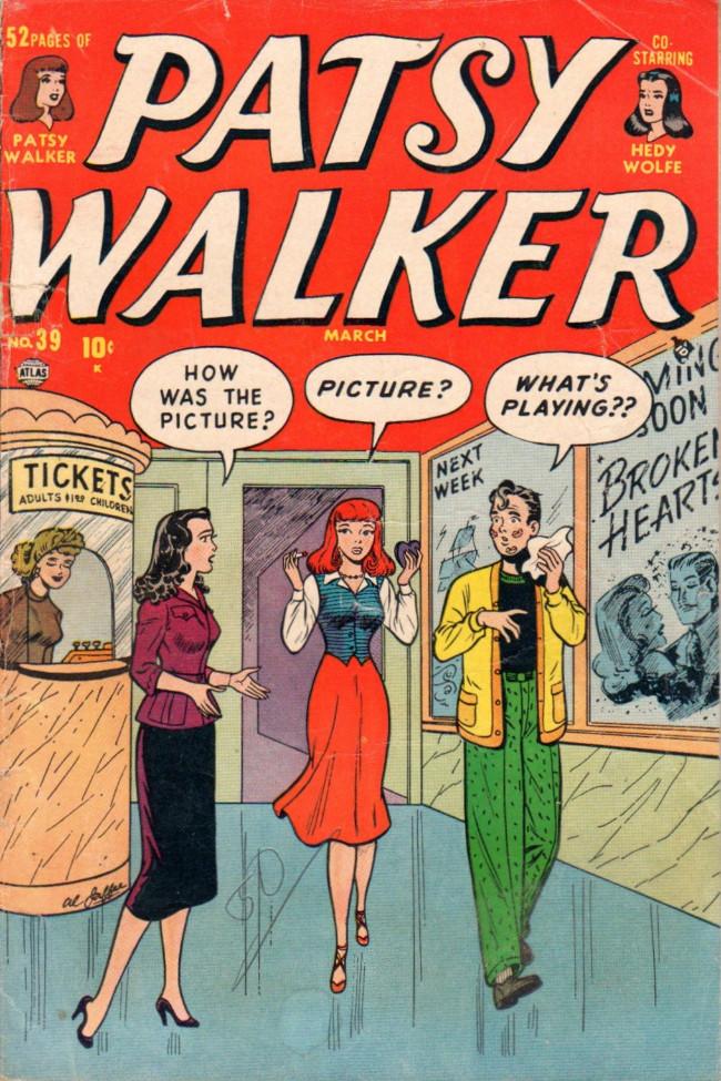 Couverture de Patsy Walker (Timely - 1945) -39- (sans titre)