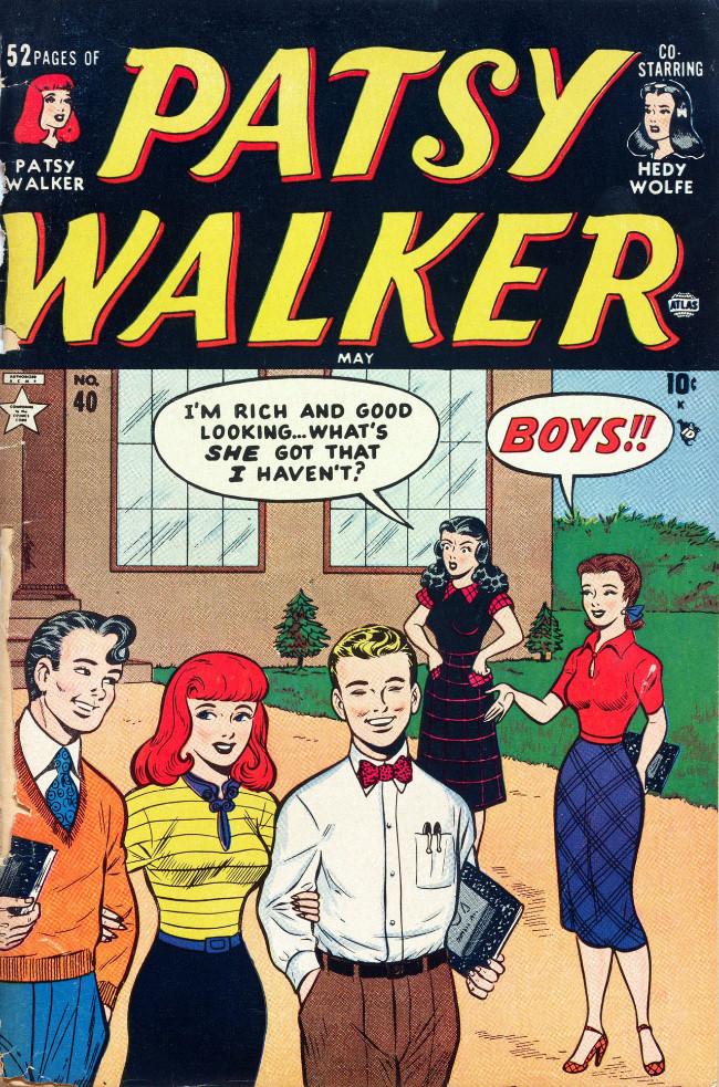 Couverture de Patsy Walker (Timely - 1945) -40- (sans titre)