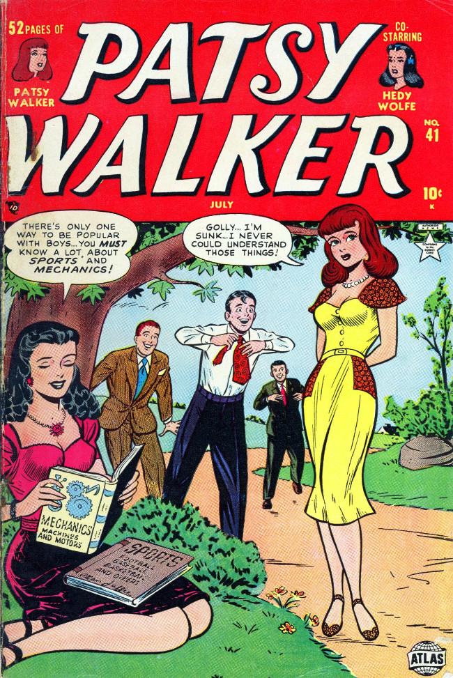 Couverture de Patsy Walker (Timely - 1945) -41- (sans titre)