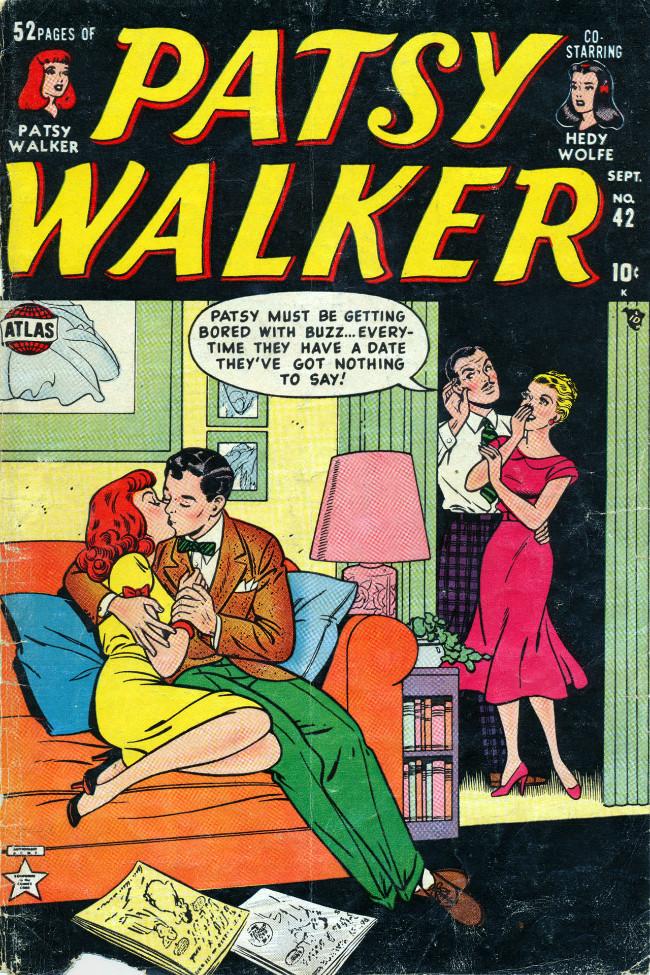 Couverture de Patsy Walker (Timely - 1945) -42- (sans titre)