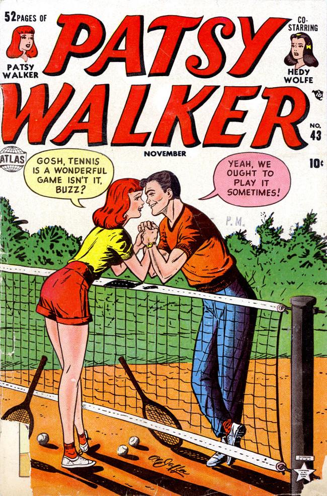 Couverture de Patsy Walker (Timely/Atlas - 1945) -43- (sans titre)