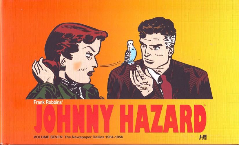 Couverture de Johnny Hazard (Frank Robbins) -7- Vol.7:the newspaper dailies 1954-1956