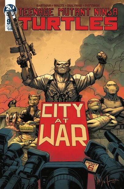 Couverture de Teenage Mutant Ninja Turtles (2011) -98- City at war, part. 6