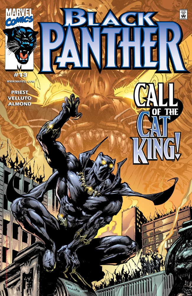 Couverture de Black Panther Vol.3 (Marvel - 1998) -13- Call of the Cat King!