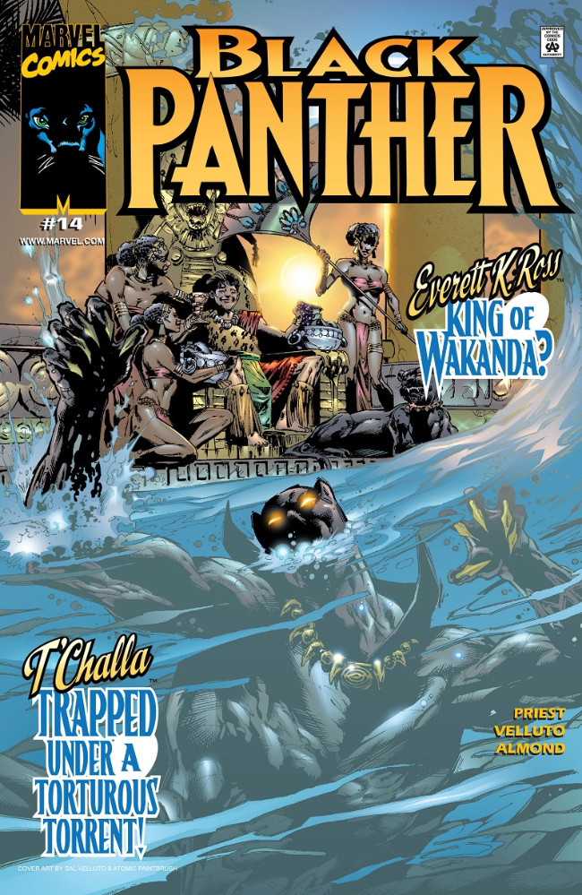 Couverture de Black Panther Vol.3 (Marvel - 1998) -14- Everett K. Ross King of Wakanda?