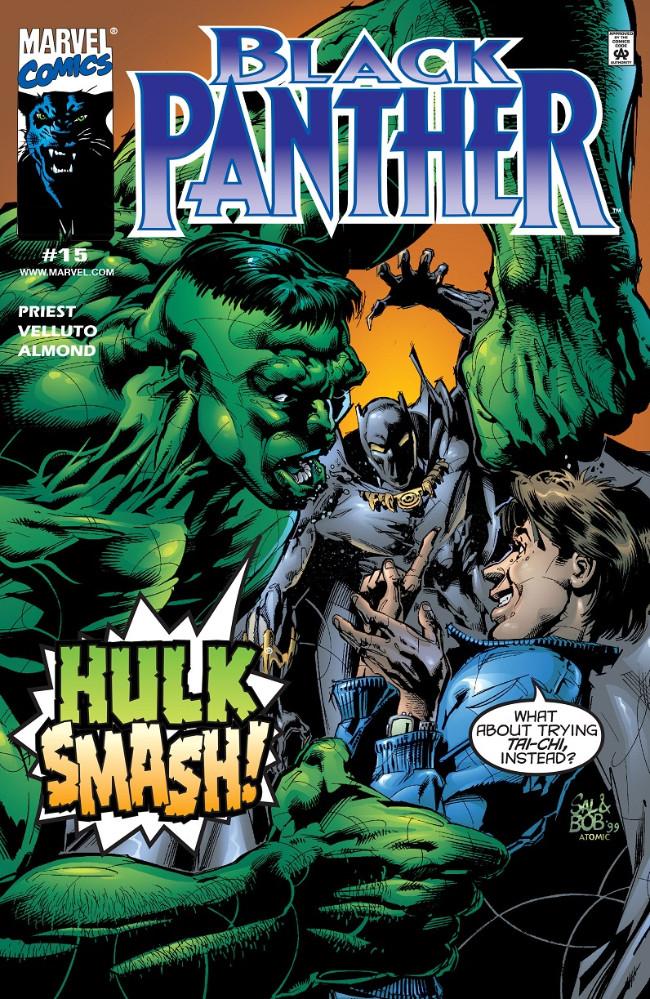 Couverture de Black Panther Vol.3 (Marvel - 1998) -15- Hulk Smash!