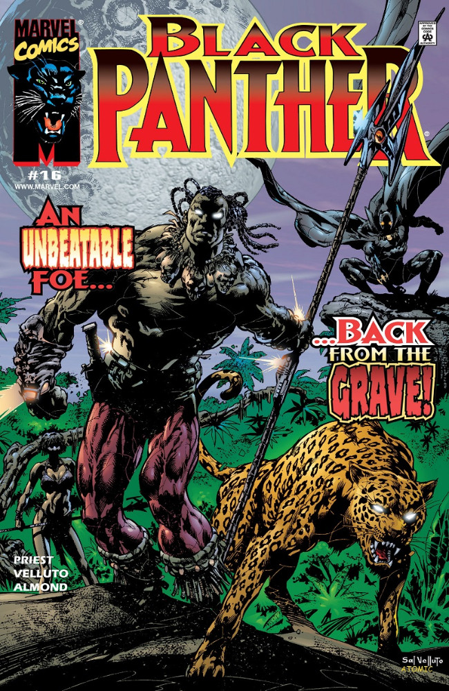 Couverture de Black Panther Vol.3 (Marvel - 1998) -16- An Unbeatable Foe...Back from the Grave!