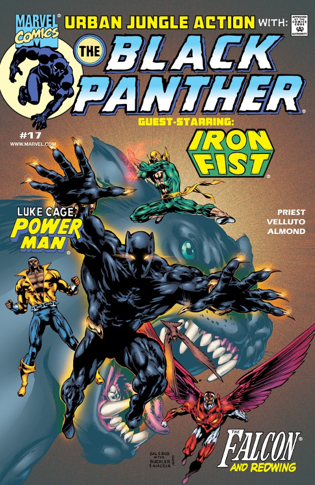 Couverture de Black Panther Vol.3 (Marvel - 1998) -17- Urban Jungle Action with: The Black Panther