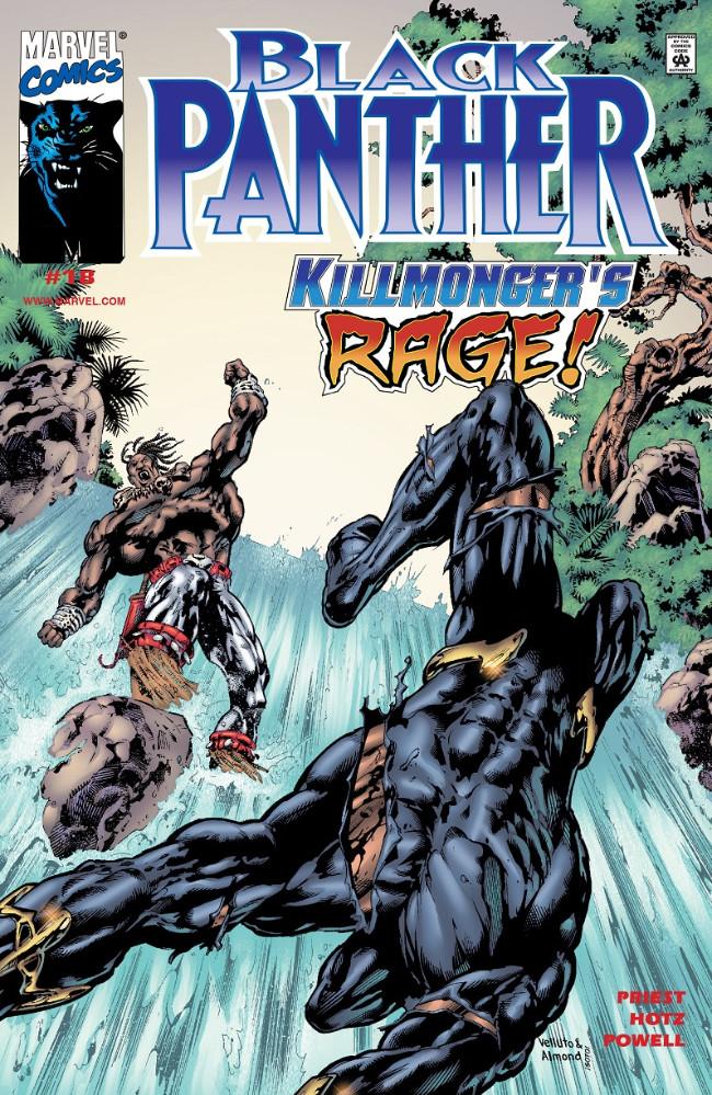 Couverture de Black Panther Vol.3 (Marvel - 1998) -18- Killmonger's Rage!