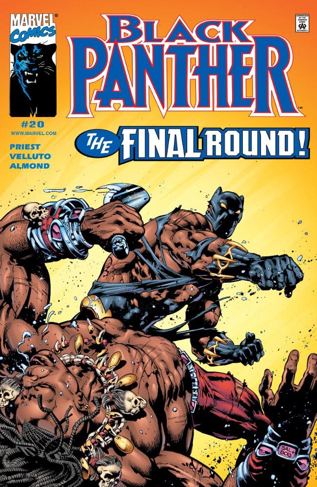 Couverture de Black Panther Vol.3 (Marvel - 1998) -20- The Final Round!