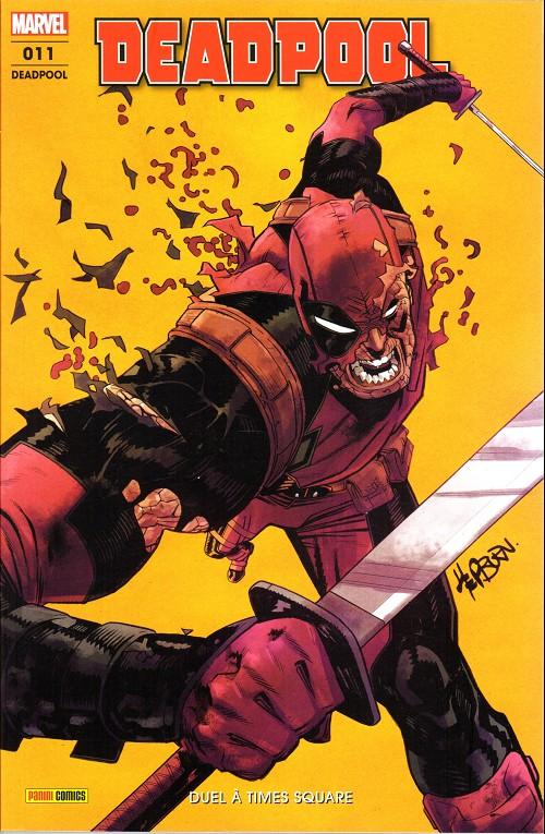 Couverture de Deadpool (Marvel France 6e série - 2019)  -11- Duel à Times Square
