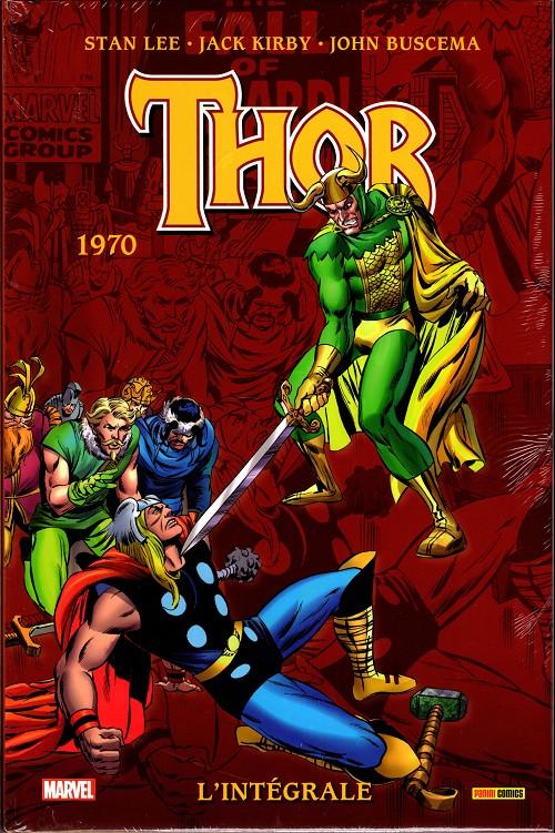 Couverture de Thor (L'intégrale) -12- L'intégrale 1970