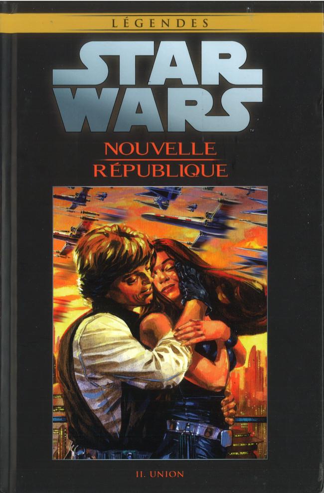 Couverture de Star Wars - Légendes - La Collection (Hachette) -10480- Nouvelle République - II. Union