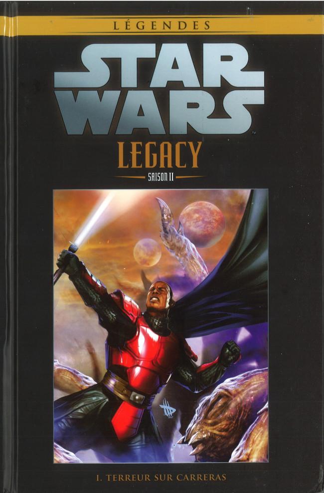 Couverture de Star Wars - Légendes - La Collection (Hachette) -10595- Star Wars Legacy Saison II - I. Terreur sur Carreras