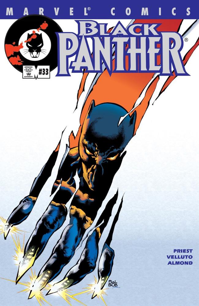 Couverture de Black Panther Vol.3 (Marvel - 1998) -33- (sans titre)