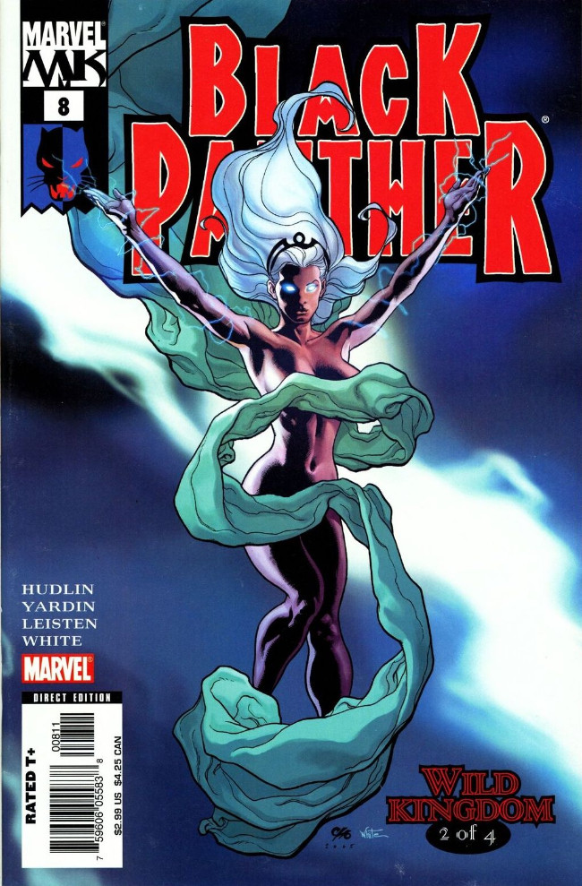 Couverture de Black Panther Vol.4 (Marvel - 2005) -8- Wild Kingdom 2 of 4