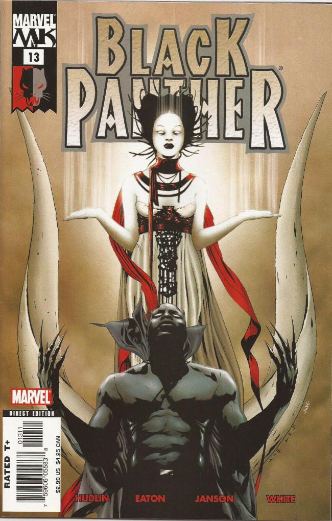 Black Panther Vol. 4 (Marvel - 2005) -13- White Light, Black Heat cover