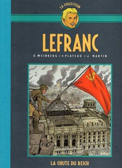 Couverture de Lefranc - La Collection (Hachette) -VII- La chute du reich