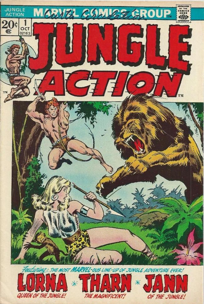 Couverture de Jungle Action Vol.2 (Marvel - 1972) -1- Agu the Giant