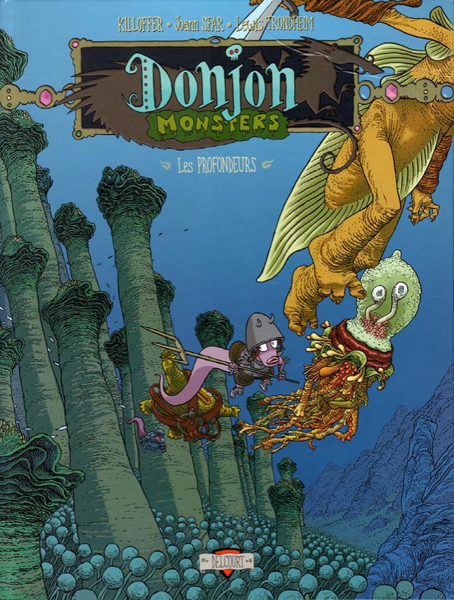 Couverture de Donjon Monsters -9- Les Profondeurs