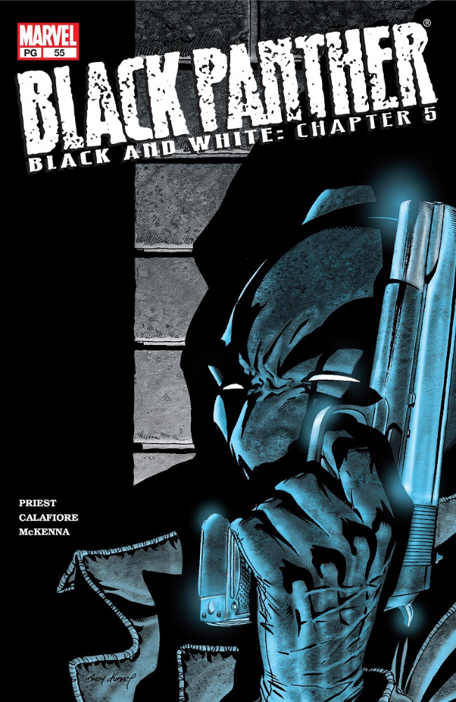 Couverture de Black Panther Vol.3 (Marvel - 1998) -55- Black and White: Chapter 5