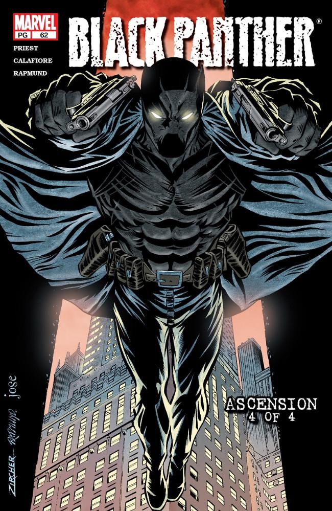Couverture de Black Panther Vol.3 (Marvel - 1998) -62- Ascension 4 of 4