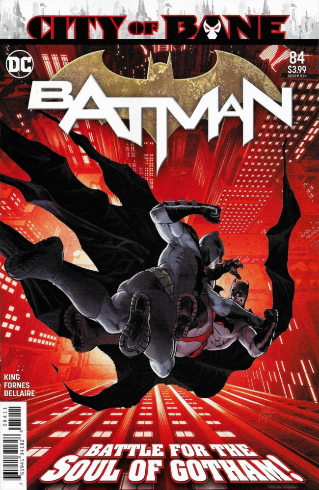 Couverture de Batman (DC Comics - 2016) -84- City of Bane, Part Ten