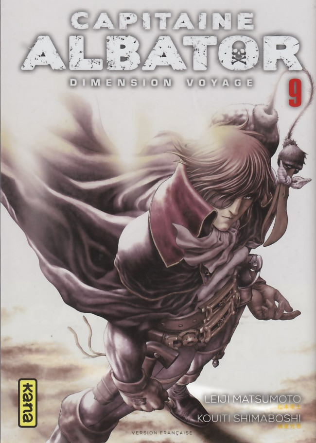 Couverture de Capitaine Albator - Dimension voyage -9- Tome 9
