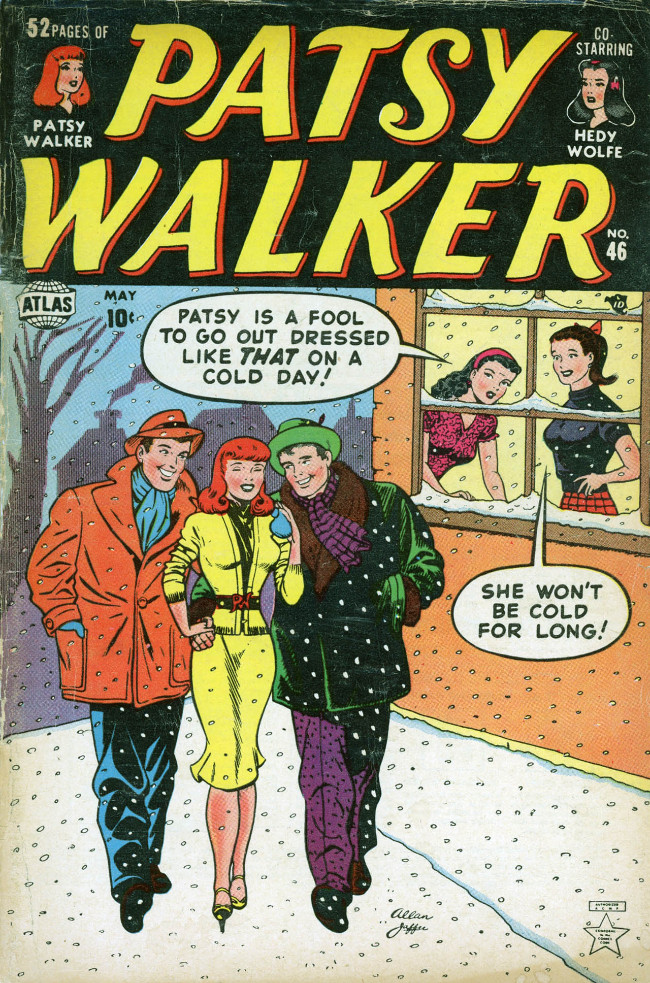 Couverture de Patsy Walker (Timely/Atlas - 1945) -46- (sans titre)