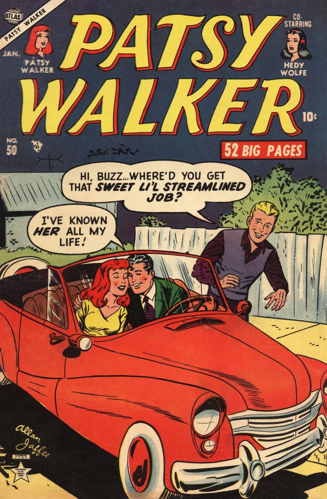 Couverture de Patsy Walker (Timely/Atlas - 1945) -50- (sans titre)