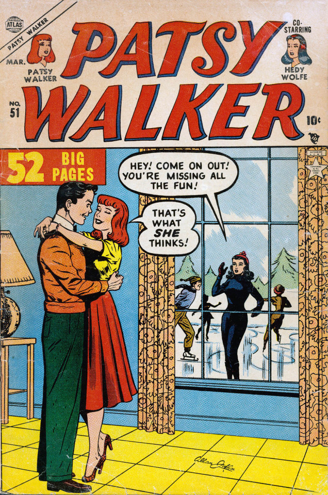 Couverture de Patsy Walker (Timely/Atlas - 1945) -51- (sans titre)