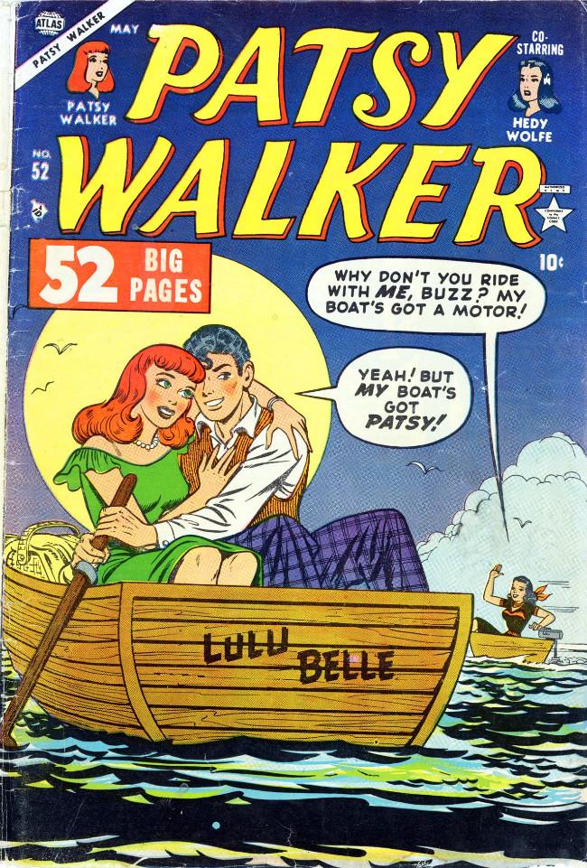 Couverture de Patsy Walker (Timely/Atlas - 1945) -52- (sans titre)