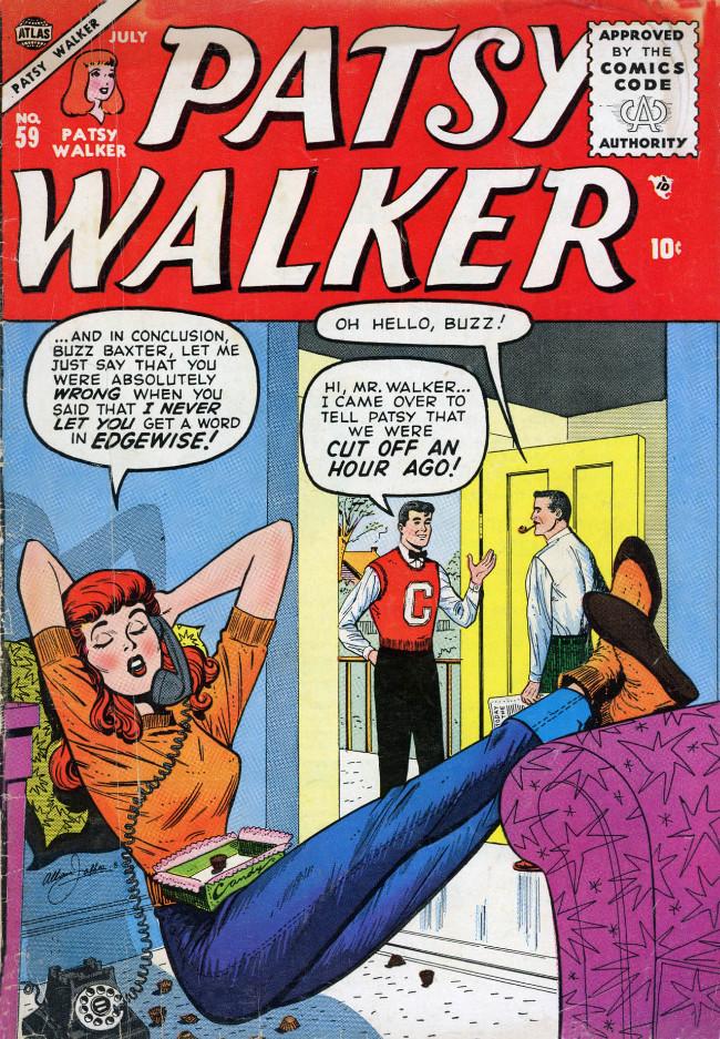 Couverture de Patsy Walker (Timely/Atlas - 1945) -59- (sans titre)