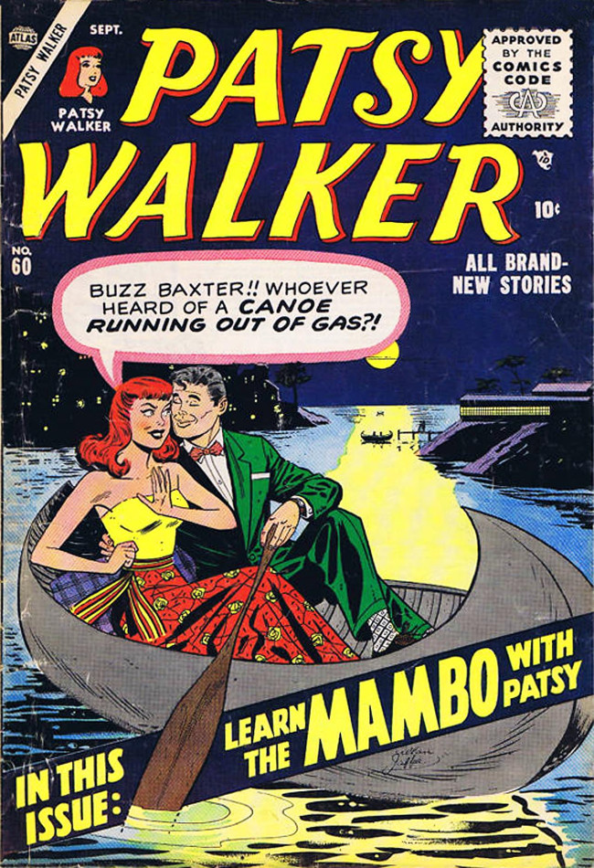 Couverture de Patsy Walker (Timely/Atlas - 1945) -60- Learn the Mambo with Patsy