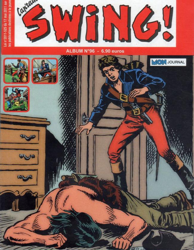 Couverture de Capt'ain Swing! (2e série - Mon Journal) -REC96- Album N° 96 (du n° 288 au n°290)