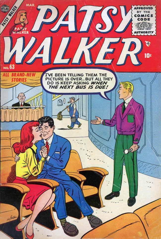 Couverture de Patsy Walker (Timely/Atlas - 1945) -63- (sans titre)