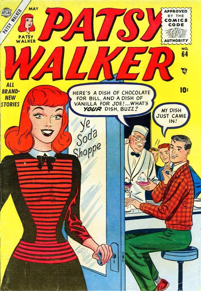 Couverture de Patsy Walker (Timely/Atlas - 1945) -64- (sans titre)
