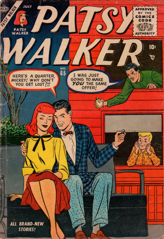 Couverture de Patsy Walker (Timely/Atlas - 1945) -65- (sans titre)