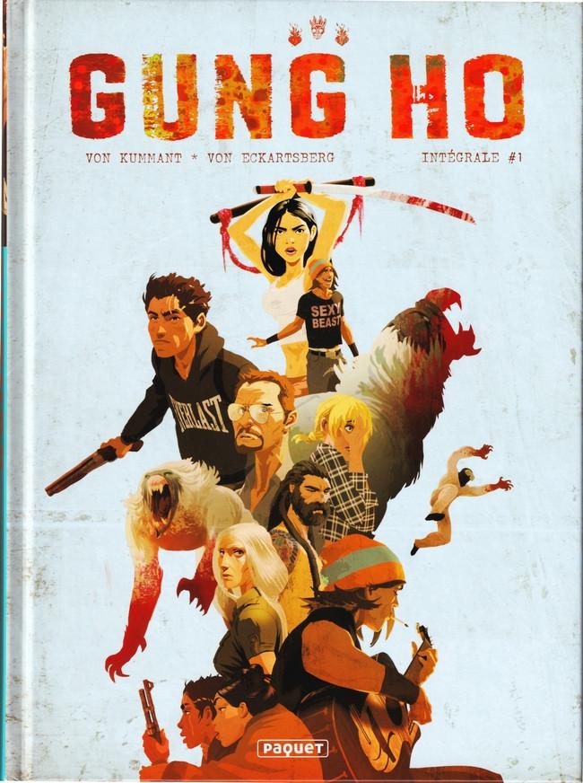 Couverture de Gung Ho -INT01- Intégrale #1
