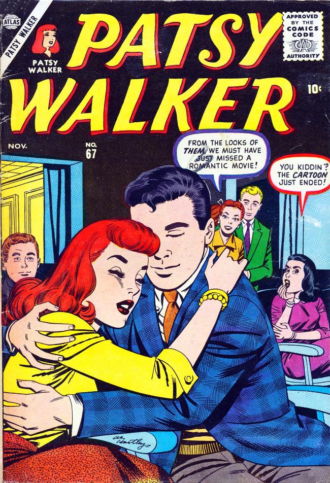 Couverture de Patsy Walker (Timely/Atlas - 1945) -67- (sans titre)
