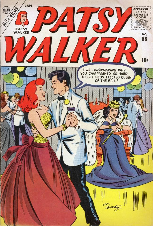 Couverture de Patsy Walker (Timely/Atlas - 1945) -68- (sans titre)